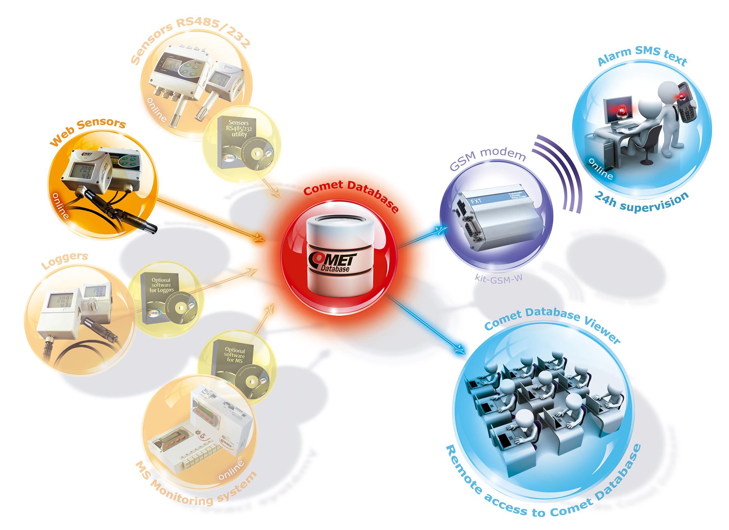 Online Ethernet Monitoring system