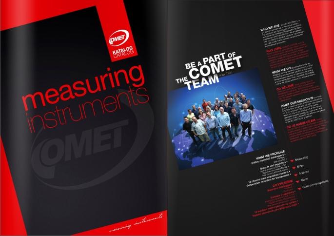COMET E-katalog